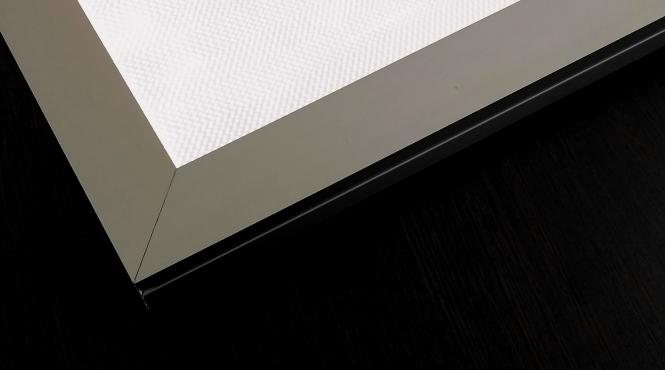 Прямоугольный профиль для световых панелей «CLASSIC»